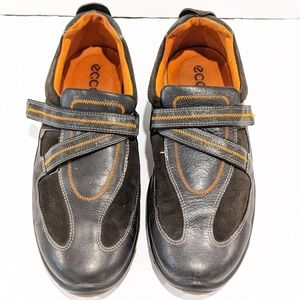 Ecco grey leather shoes size 41